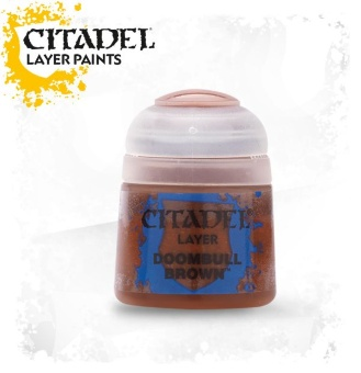 Краска Citadel Layer: Doombull Brown