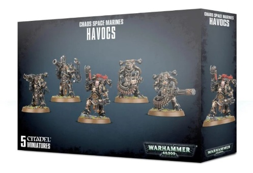 WH40k: Chaos Space Marine Havocs