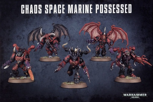 WH40k: Chaos Space Marine Possessed