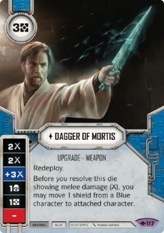 Dagger of Mortis [Legendary from Way of the Force 117]