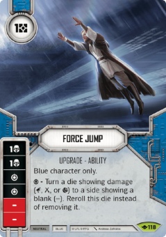 Force Jump [Rare from Way of the Force 118]