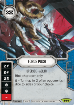 Force Push [Rare from Spirit of Rebellion 54]