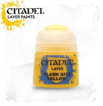Краска Citadel Layer: Flash Gitz Yellow