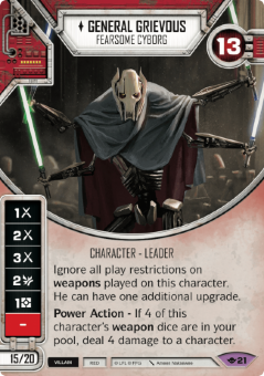 General Grievous - Fearsome Cyborg [Legendary from Way of the Force 21]