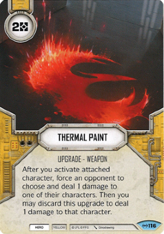 Thermal Paint [Common from Empire at War 116]