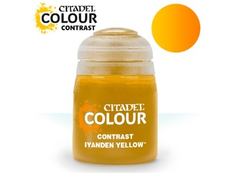 Краска Citadel Contrast: Iyanden Yellow (18ml)