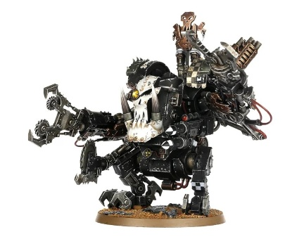 WH40k: Ork Deff Dread (out of box)