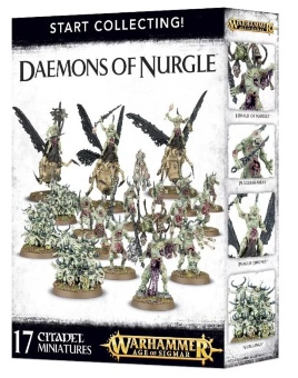 WH AoS: Daemons of Nurgle Start Collecting
