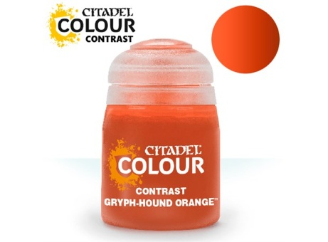 Краска Citadel Contrast: Gryph-Hound Orange (18ml)