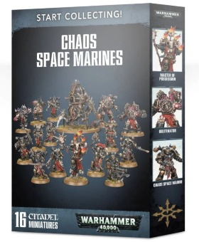 WH40k: Chaos Space Marines Start Collecting (2019)