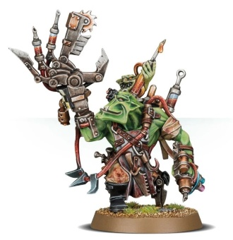 WH40k: Ork Painboy (out of box)