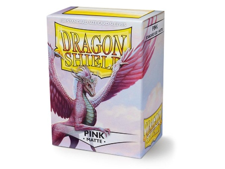 Протекторы Dragon Shield: Matte Pink (100 шт.)
