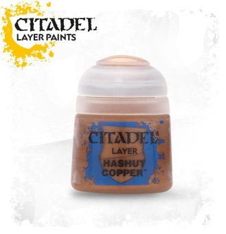 Краска Citadel Layer: Hashut Copper