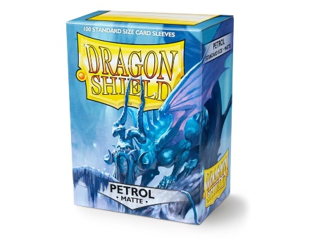 Протекторы Dragon Shield: Matte Petrol (100 шт.)