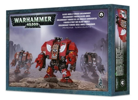 WH40k: Blood Angels Furioso Dreadnought