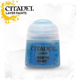 Краска Citadel Layer: Hoeth Blue