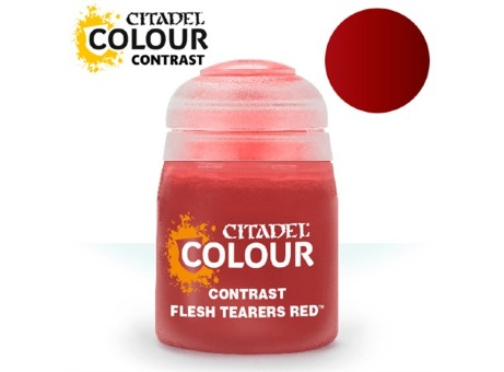 Краска Citadel Contrast: Flesh Tearers Red (18ml)