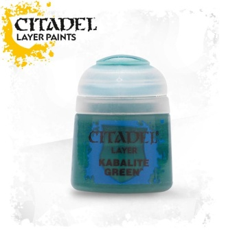 Краска Citadel Layer: Kabalite Green