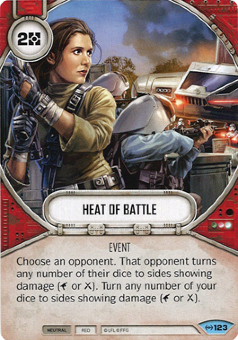 Heat Of Battle [Common from Empire at War 123]