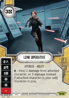 Lone Operative [Rare from Spirit of Rebellion 49] на русском