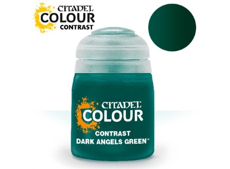 Краска Citadel Contrast: Dark Angels Green (18ml)