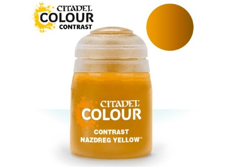 Краска Citadel Contrast: Nazdreg Yellow (18ml)