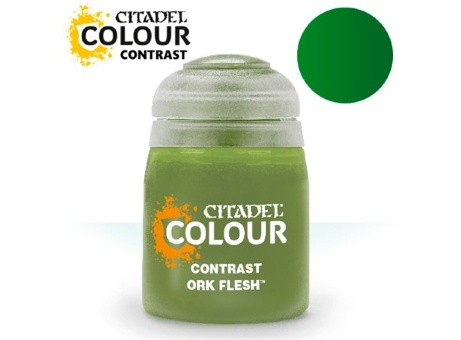Краска Citadel Contrast: Ork Flesh (18ml)