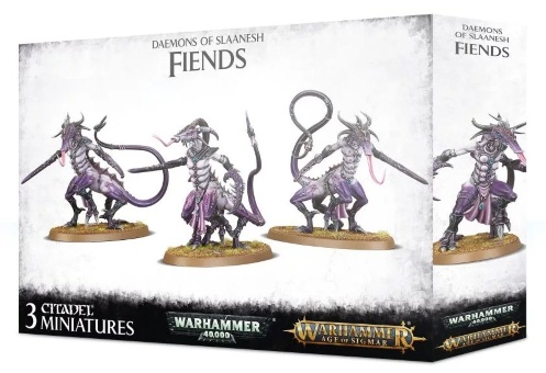 WH40k: Chaos Daemons of Slaanesh Fiends