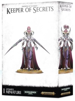 WH40k: Chaos Daemons of Slaanesh Keeper of Secrets