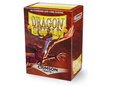 Протекторы Dragon Shield: Matte Crimson (100 шт.)