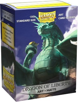 Протекторы Dragon Shield: ill. Dragon of Liberty (100 шт.)