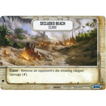 Secluded Beach - Scarif [Common from Spirit of Rebellion 158] на русском