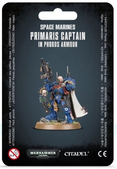 WH40k: Space Marine Primaris Captain in Phobos Armour