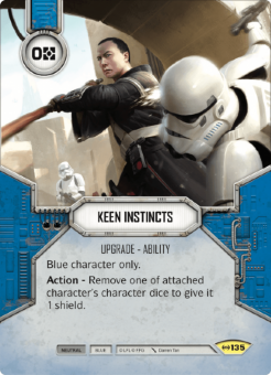 Keen Instincts [Uncommon from Empire at War 135]