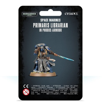 WH40k: Space Marine Primaris Librarian in Phobos Armour
