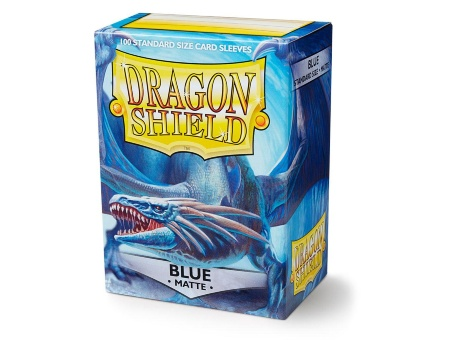 Протекторы Dragon Shield: Matte Blue (100 шт.)