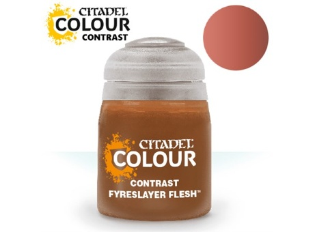Краска Citadel Contrast: Fyreslayer Flesh (18ml)