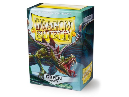 Протекторы Dragon Shield: Matte Green (100 шт.)