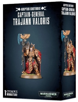 WH40k: Adeptus Custodes Captain-General Trajann Valoris