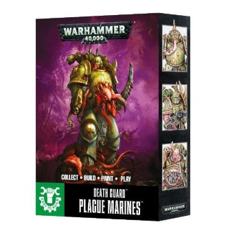 WH40k: Easy to Build: Death Guard Plague Marines