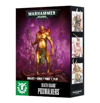 WH40k: Easy to Build: Death Guard Poxwalkers