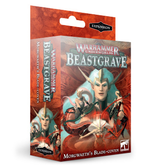 Warhammer Underwolds Morgweath's Blade Coven (RUS)