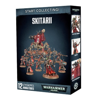 WH40k: Adeptus Mechanicus Skitarii Start Collecting (2017)