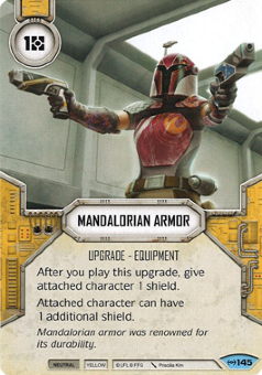 Mandalorian Armor [Common from Empire at War 145]