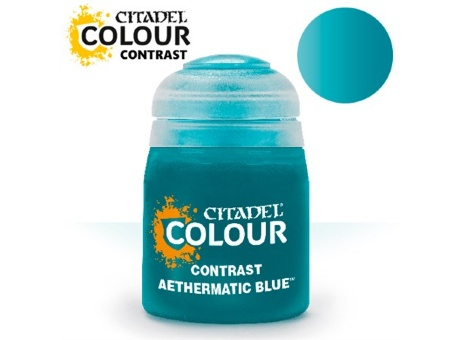 Краска Citadel Contrast: Aethermatic Blue (18ml)