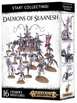 WH AoS: Daemons of Slaanesh Start Collecting