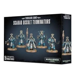 WH40k: Thousand Sons Scarab Occult Terminators