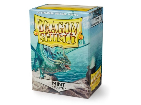 Протекторы Dragon Shield: Matte Mint (100 шт.)