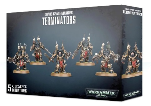 WH40k: Chaos Space Marine Terminators