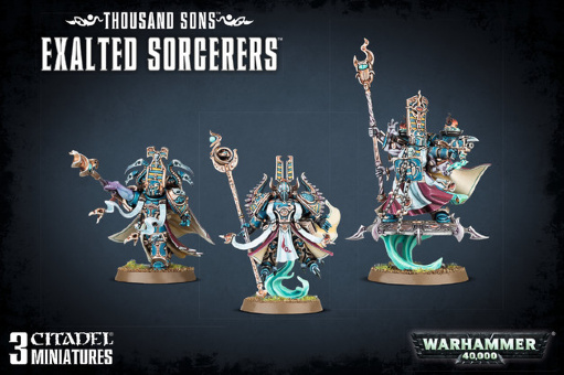 WH40k: Thousand Sons Exalted Sorcerers